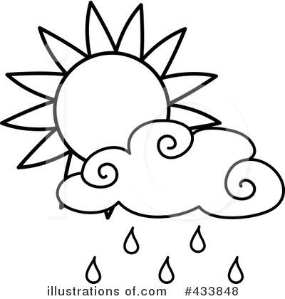 Royalty Free RF Rain Clipart Illustration 433848 By Pams