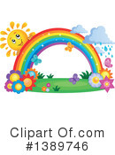 Rainbow Clipart #1389746 by visekart