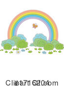 Rainbow Clipart #1716204 by Alex Bannykh