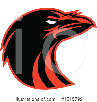 Royalty-Free (RF) Raven Clipart Illustration by patrimonio - Stock Sample #1515792