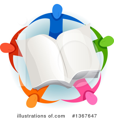 Royalty-Free (RF) Reading Clipart Illustration by BNP Design Studio - Stock Sample #1367647