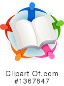 Reading Clipart #1367647 by BNP Design Studio