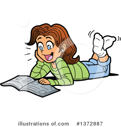 Student Clipart #1372887 by Clip Art Mascots