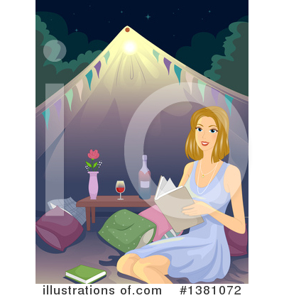 Camping Clipart #1381072 by BNP Design Studio