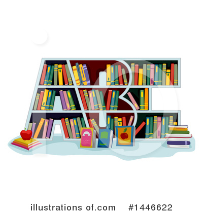 Reading Clipart #1446622 by BNP Design Studio