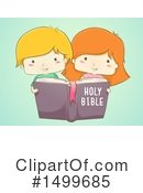 Reading Clipart #1499685 by BNP Design Studio