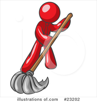 Cleaning Clipart #23202 by Leo Blanchette