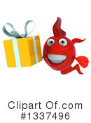 Red Fish Clipart #1337496 by Julos