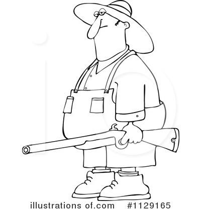 Redneck Clipart #1129165 - Illustration by djart