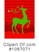 Reindeer Clipart #1087071 by Pushkin