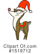 Reindeer Clipart #1519712 by lineartestpilot