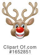 Reindeer Clipart #1652851 by AtStockIllustration