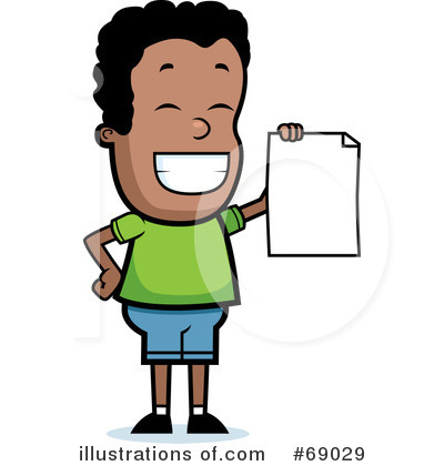 Report Card Clipart #69029 - Illustration by Cory Thoman