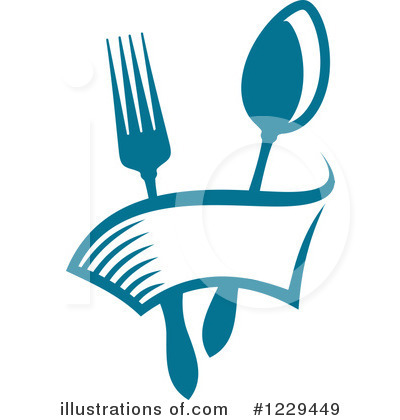 Restaurant Clipart #1229449 - Illustration by Vector Tradition SM