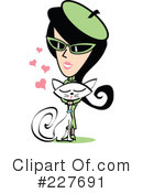 Retro Girl Clipart #227691 by Andy Nortnik