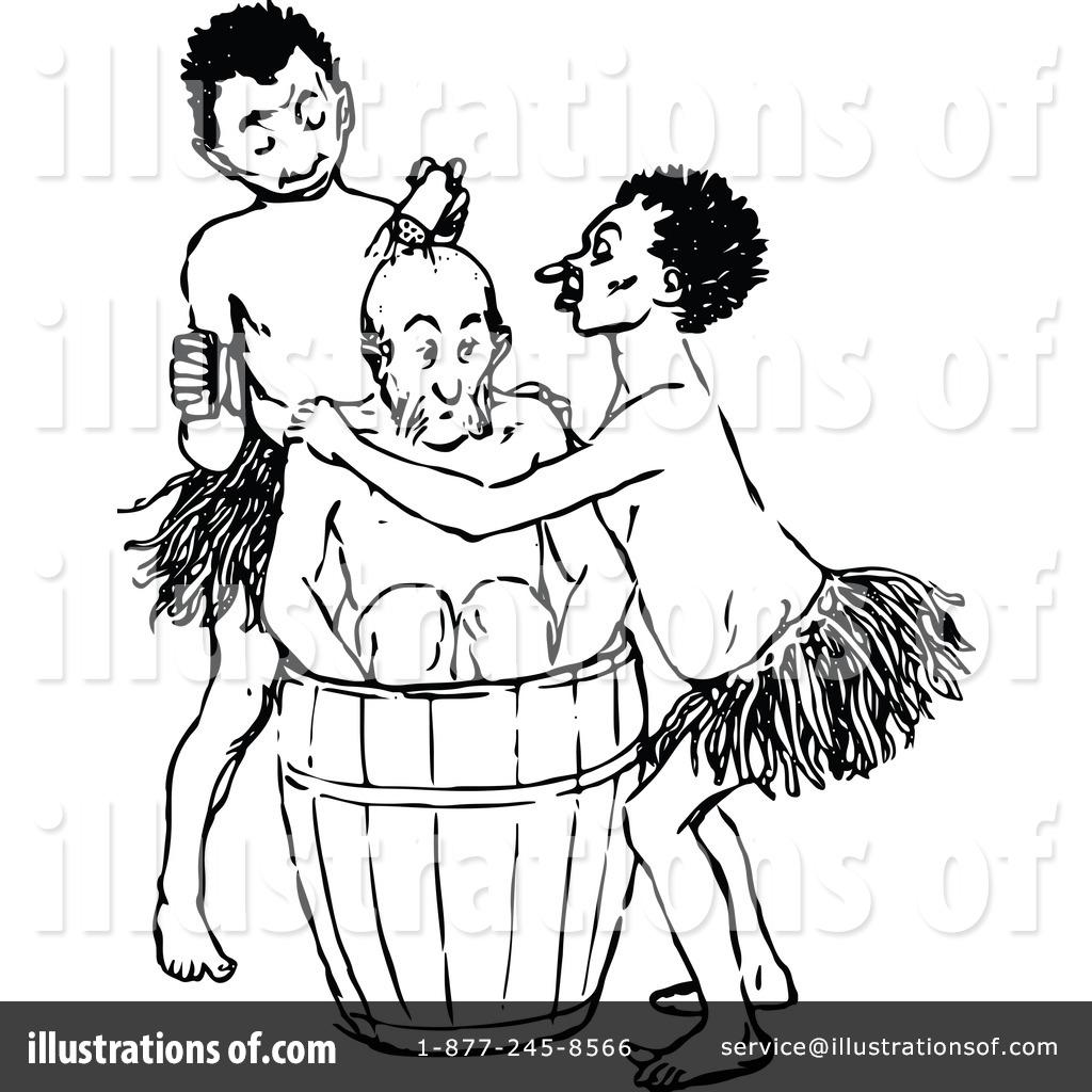 Aboriginal Clipart #1121571 - Illustration by Prawny Vintage