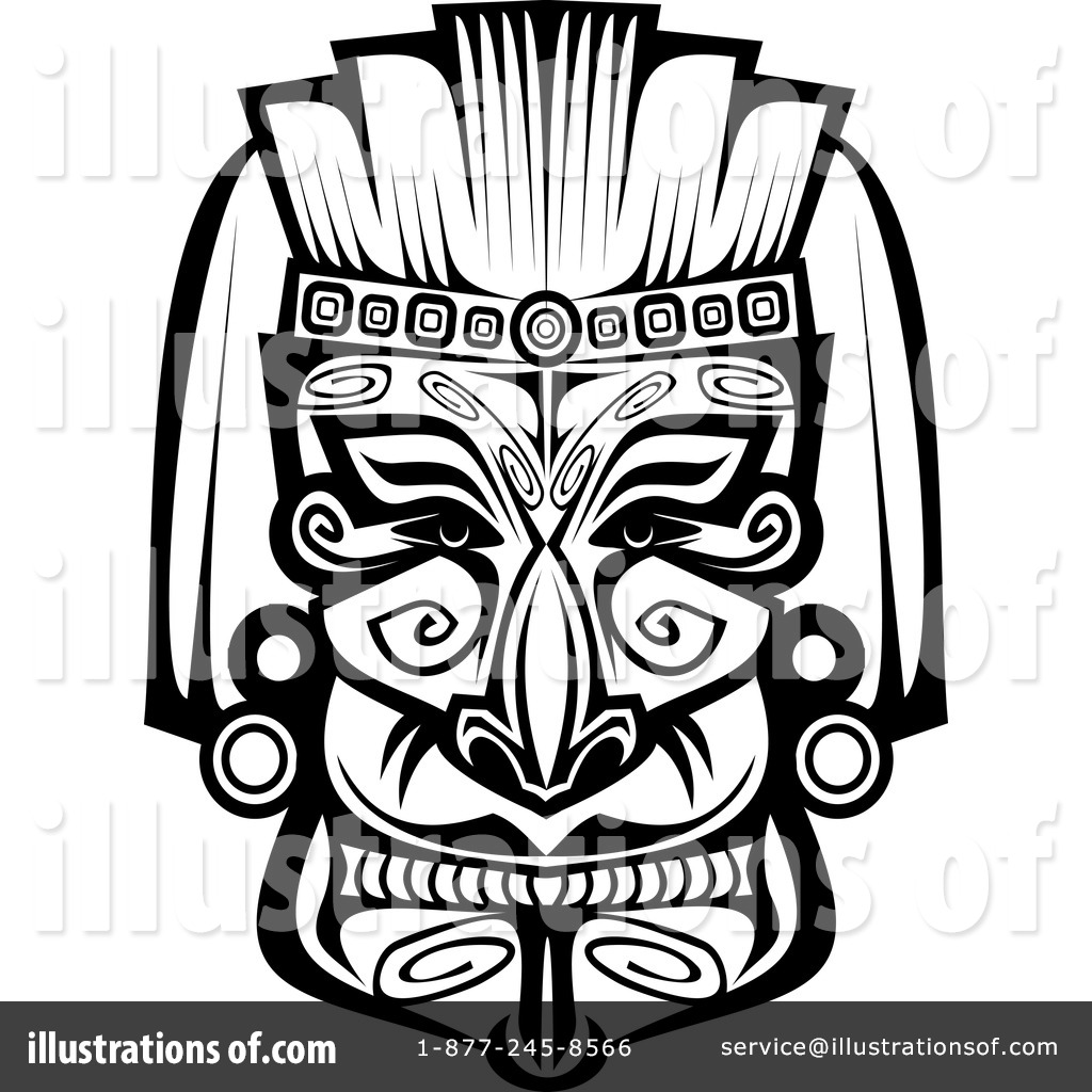 indian tribal masks coloring pages - photo#18