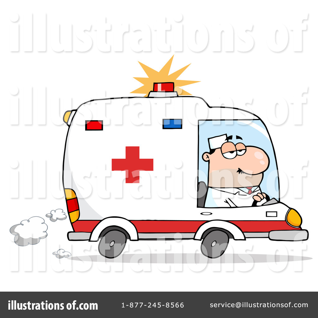 Ambulance clipart  Ambulance Clipart #223260 - Illustration by Hit Toon