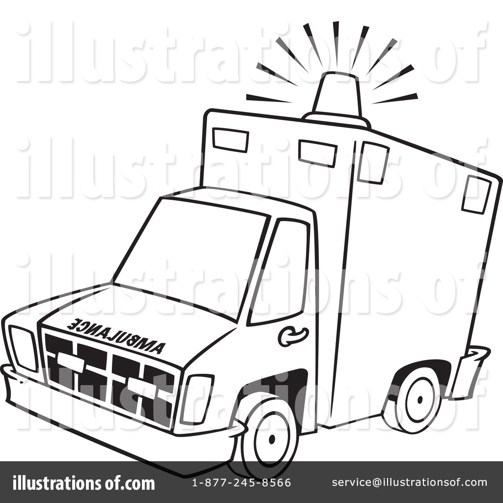 ambulance clipart 1100816 illustration by toonaday