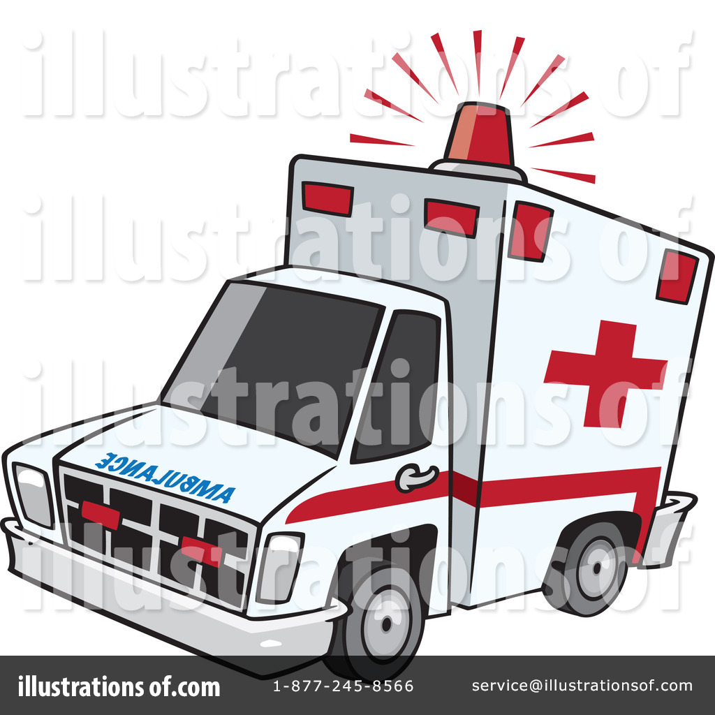 Ambulance clipart  Ambulance Clipart #1100845 - Illustration by toonaday