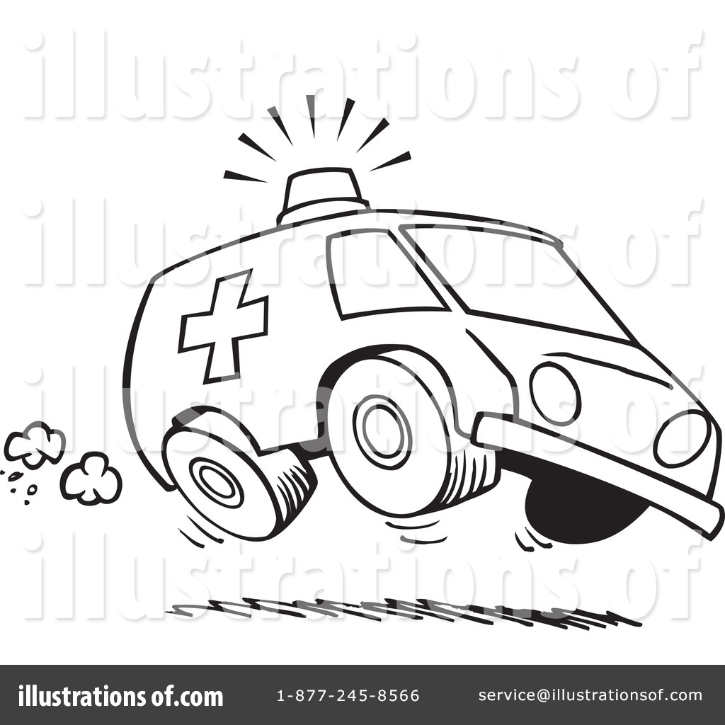 Ambulance Clipart #439465 - Illustration by toonaday | {Ambulance clipart 53}