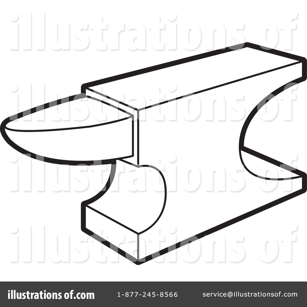 Royalty-Free (RF) Anvil Clipart Illustration by Lal Perera - Stock ...