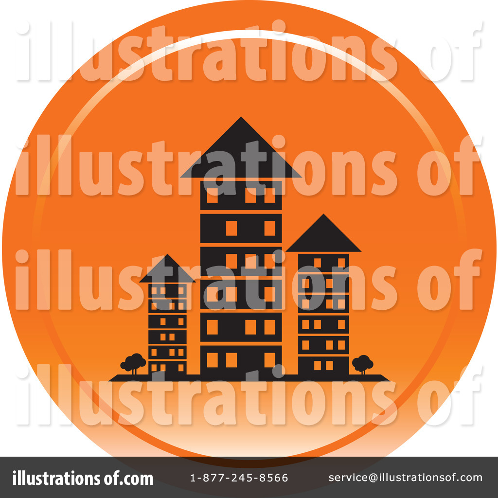 Apartments Clipart #1104769 - Illustration by Lal Perera