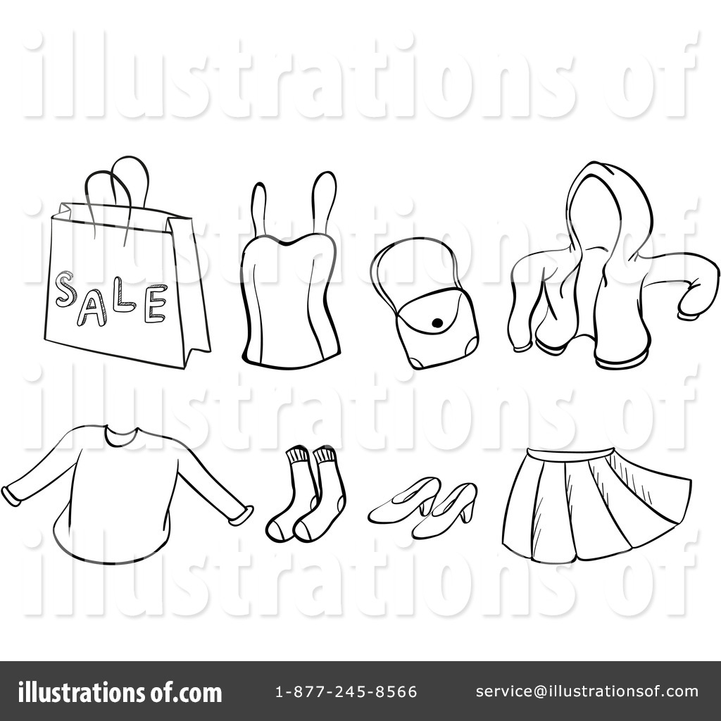 apparel clipart 1255042 illustration by graphics rf