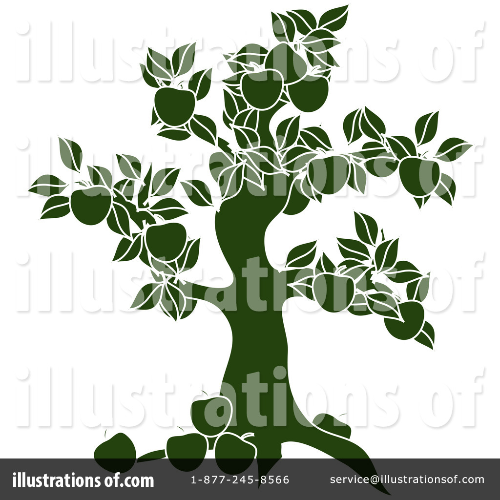 Apple Tree Stock Illustrations Cliparts And Royalty Free Apple - Royalty free rf apple tree clipart illustration by pams clipart stock sample