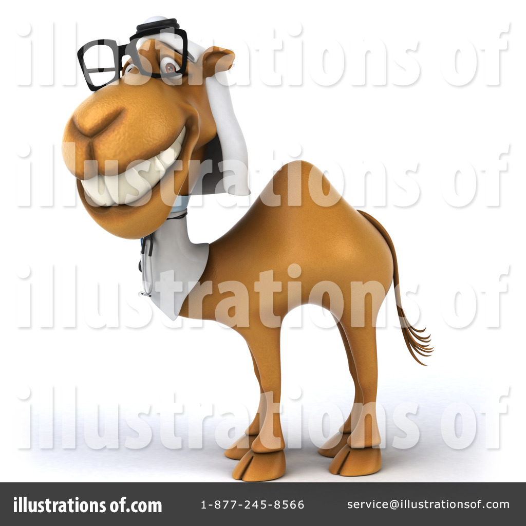 arabian doctor camel clipart 1308160 illustration by julos rh illustrationsof com