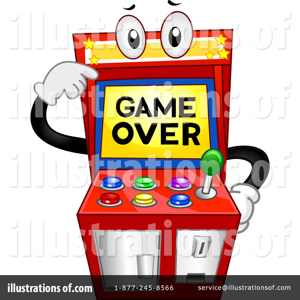 Arcade Clipart 1366673 Illustration By Clip Art Mascots