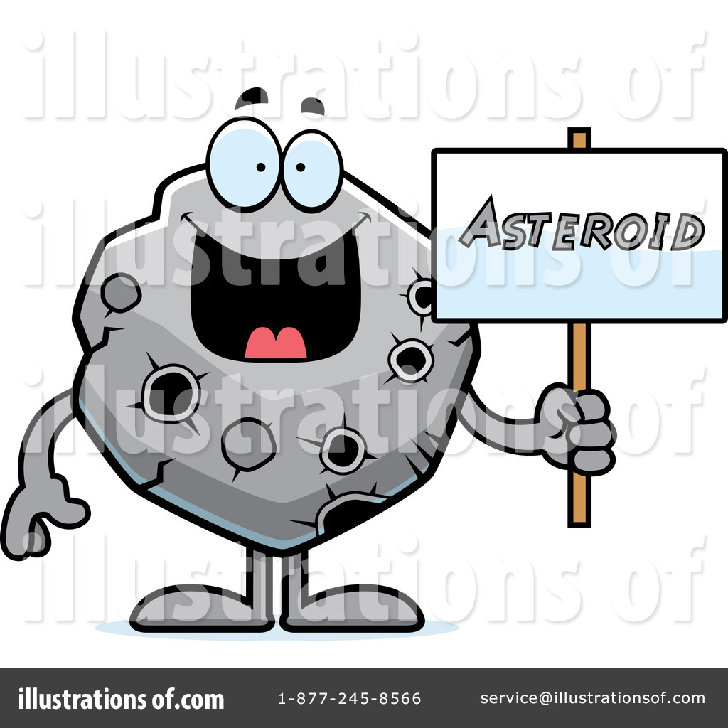 Asteroid Clipart #1094935 - Illustration by Cory Thoman