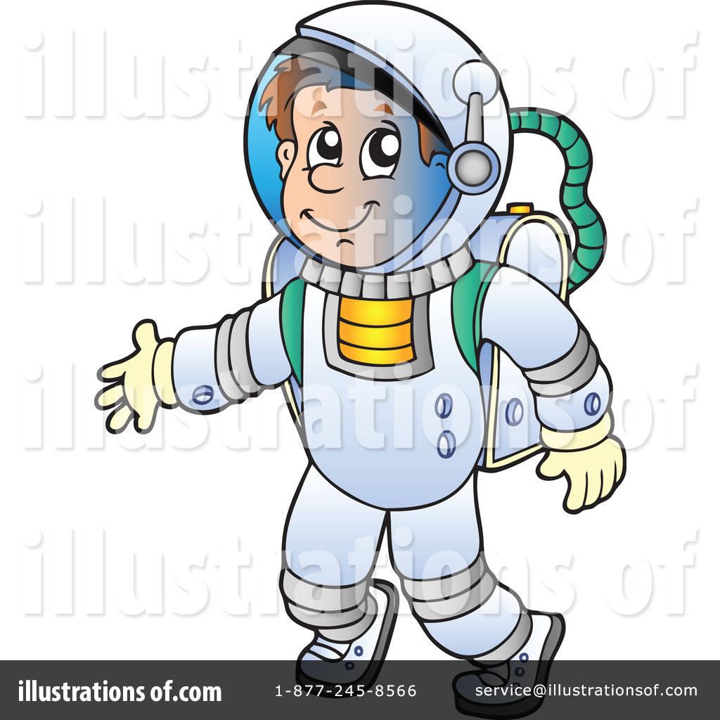 astronaut clipart 1050776 illustration by visekart rh illustrationsof com astronaut clip art pictures astronaut clip art black and white