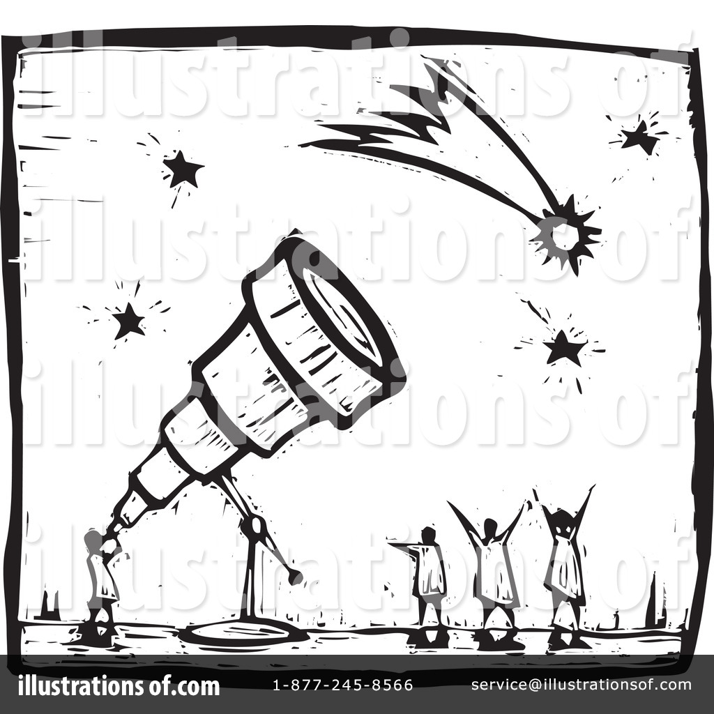 astronomy clipart black and white - photo #4