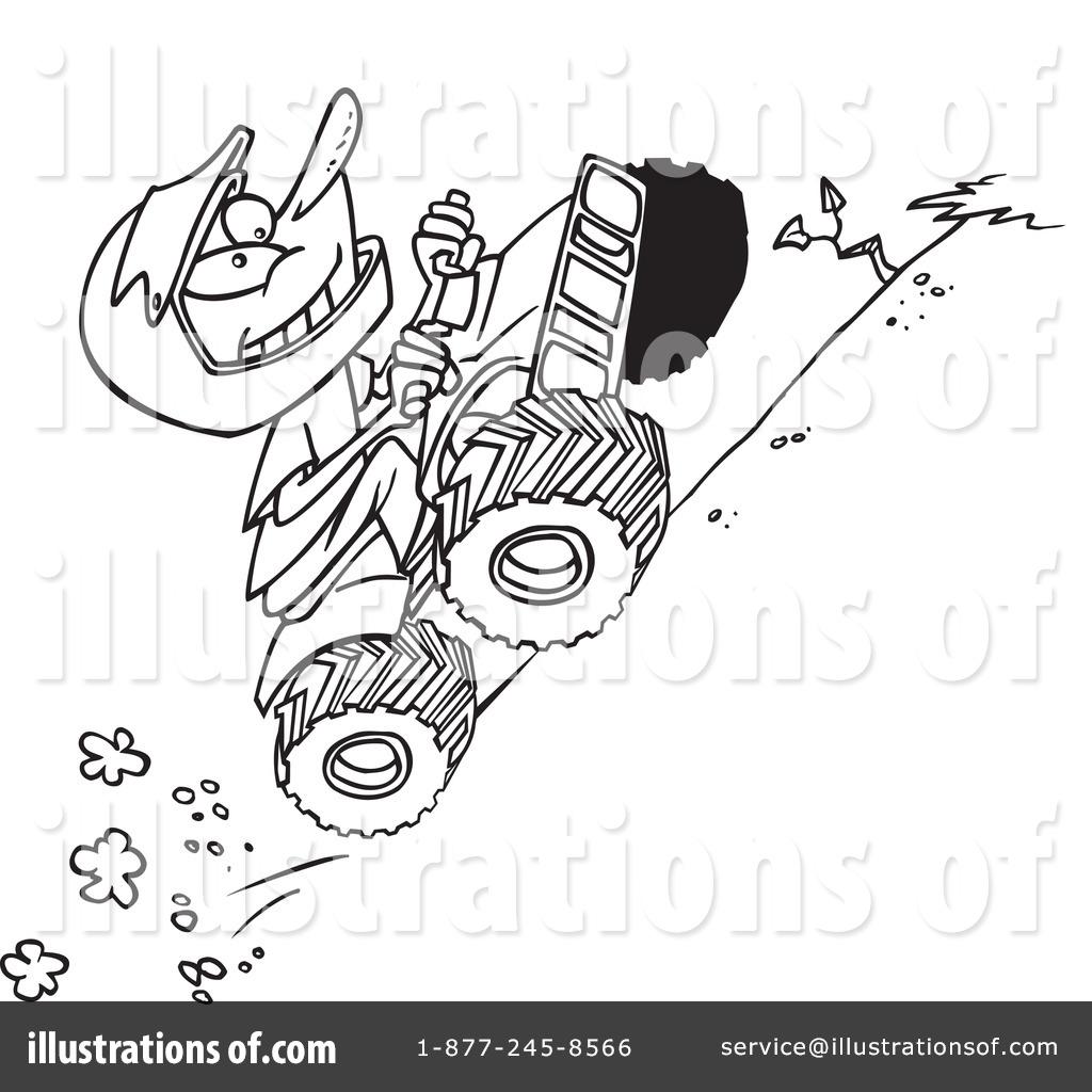 Atv Clipart #439401 - Illustration by Ron Leishman