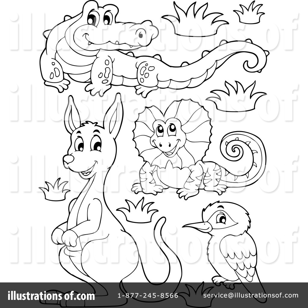 Australian Animals Clipart 1144582