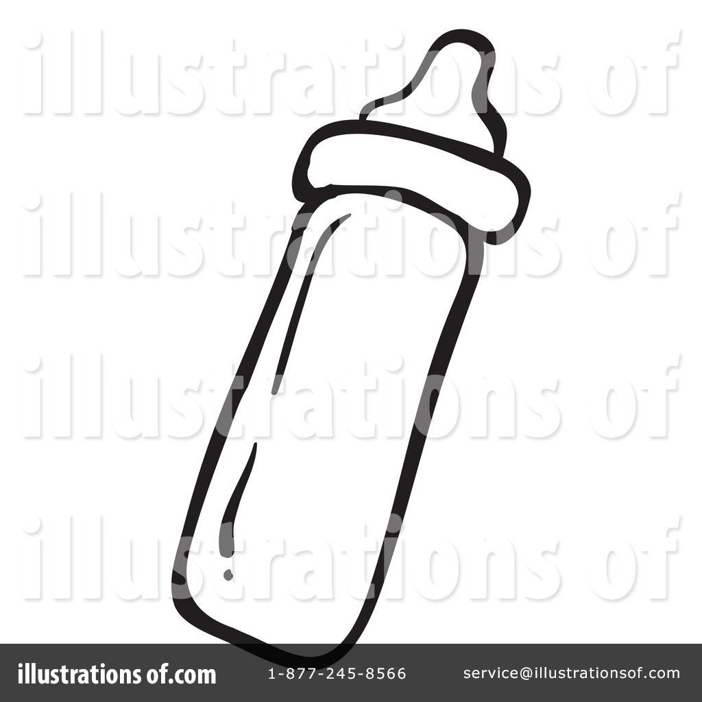 Water bottle coloring page water bottle coloring page clipart panda - Baby Bottle Clipart 1134171 Illustration By Graphics Rf