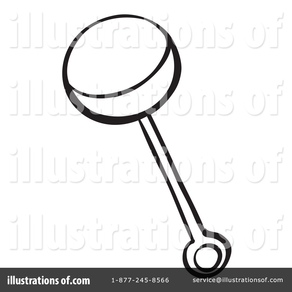 Baby Rattle Clipart #1133704 - Illustration by Graphics RF