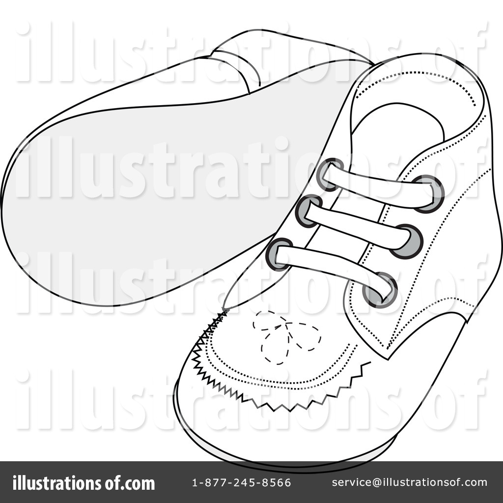 Royalty-Free (RF) Baby Shoes Clipart Illustration by Pams Clipart - Stock  Sample 8ce1957d6f