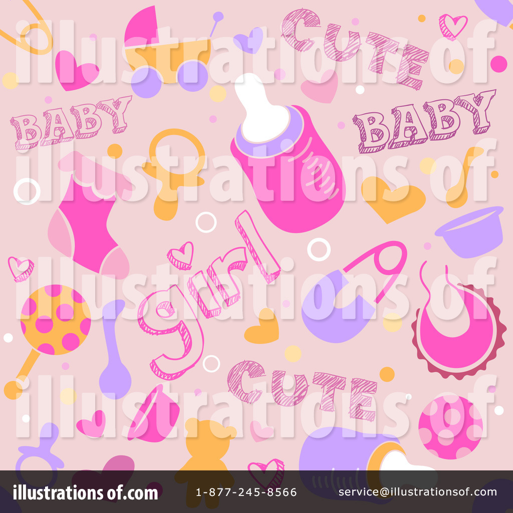 Royalty Free (RF) Baby Shower Clipart Illustration #1059448 By BNP Design  Studio