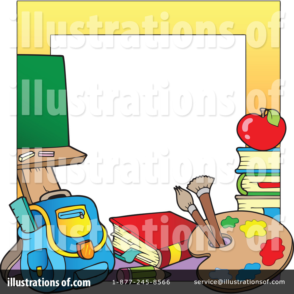 Back To School Border Clip Art Back To School ...