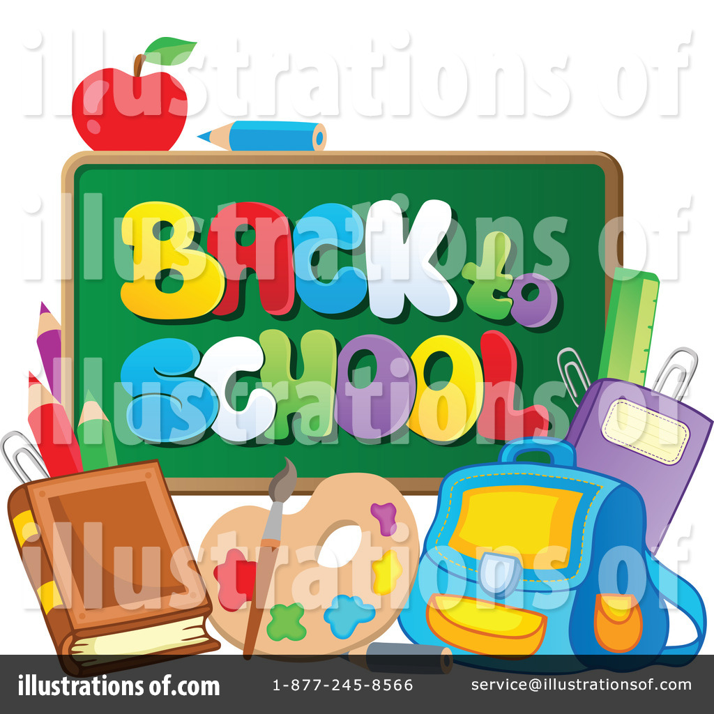 Free back to school. Clipart illustration by visekart