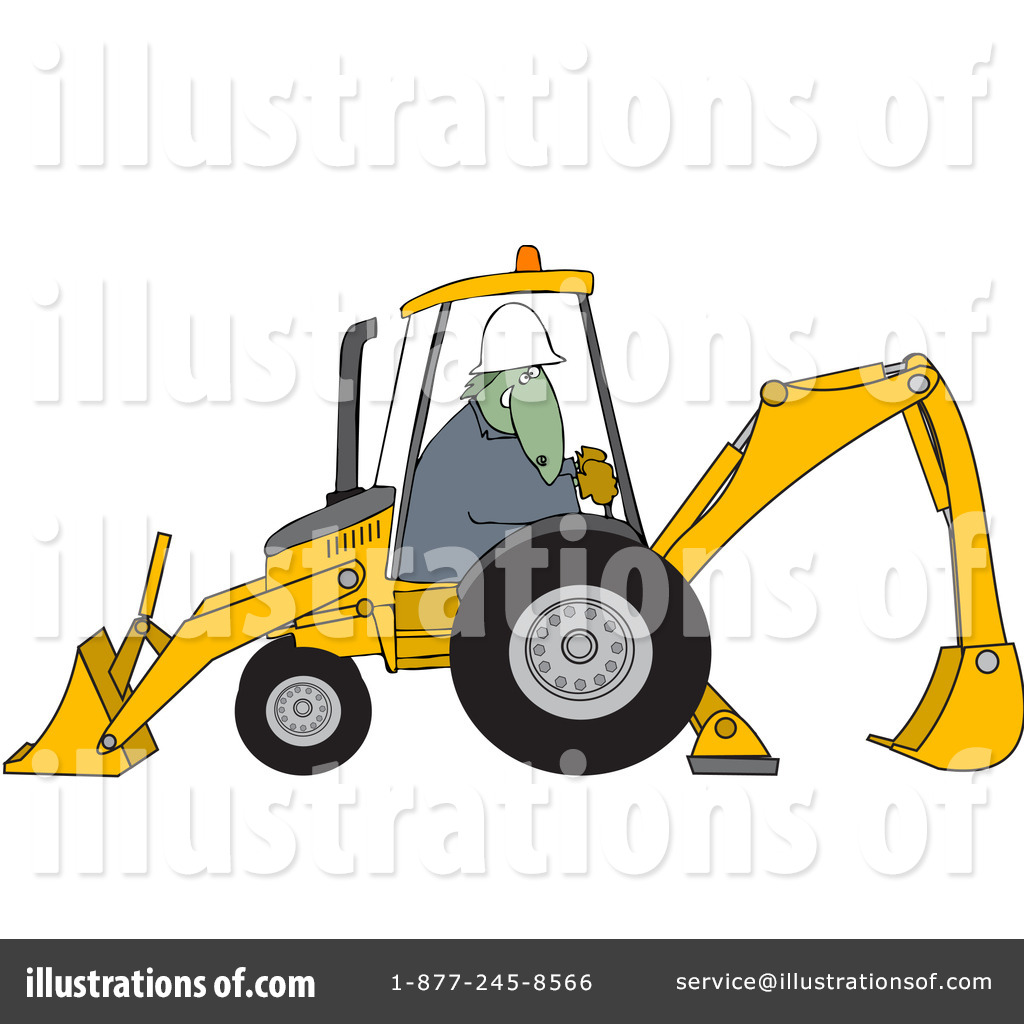backhoe clipart 93759 illustration by djart rh illustrationsof com backhoe clipart free backhoe clipart png