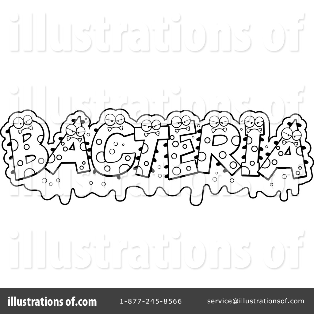 Bacteria Clipart #1230168 - Illustration by Cory Thoman