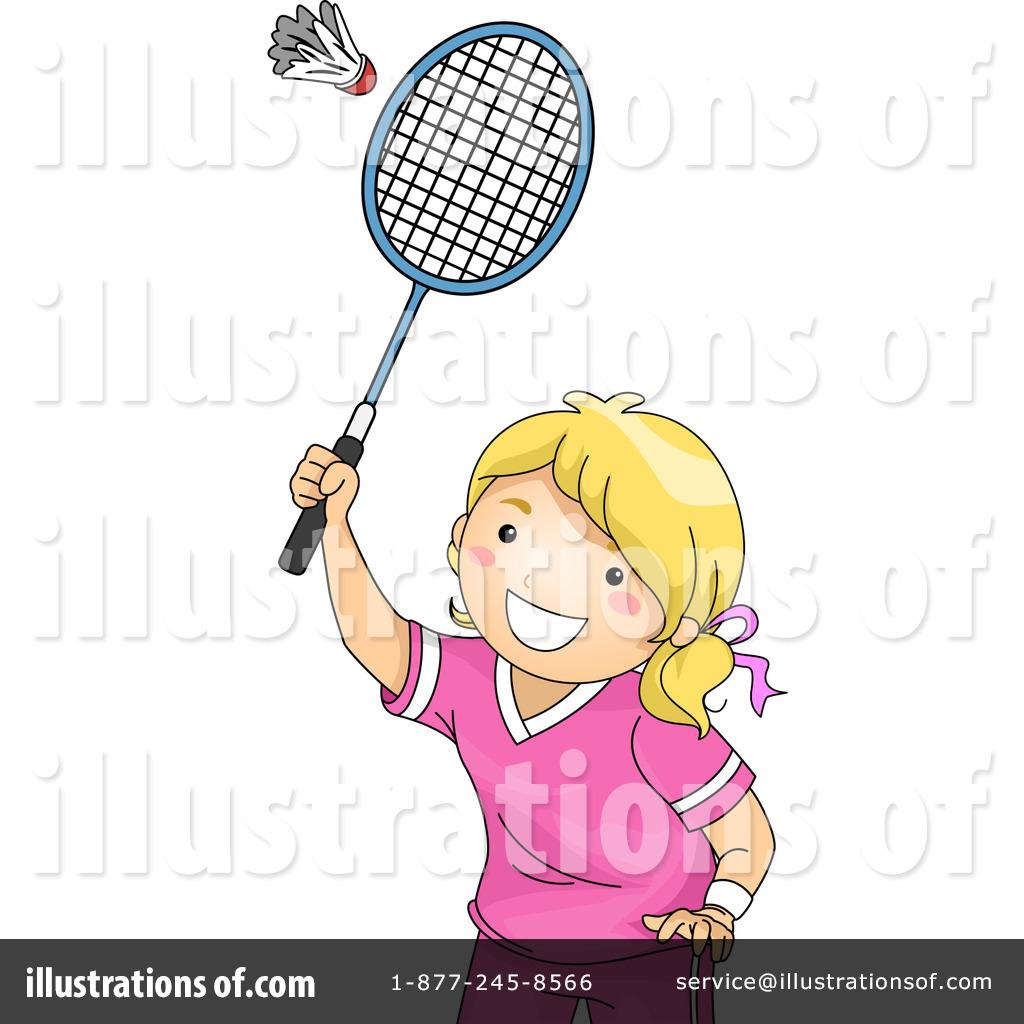 Badminton Clipart #1258073 - Illustration by BNP Design Studio