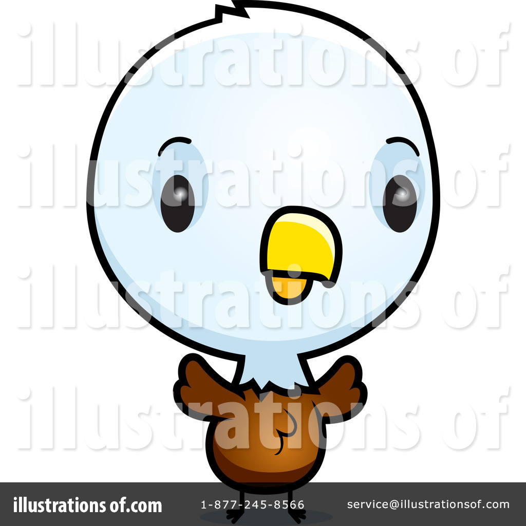 Bald Eagle Clipart #1077374 - Illustration by Cory Thoman