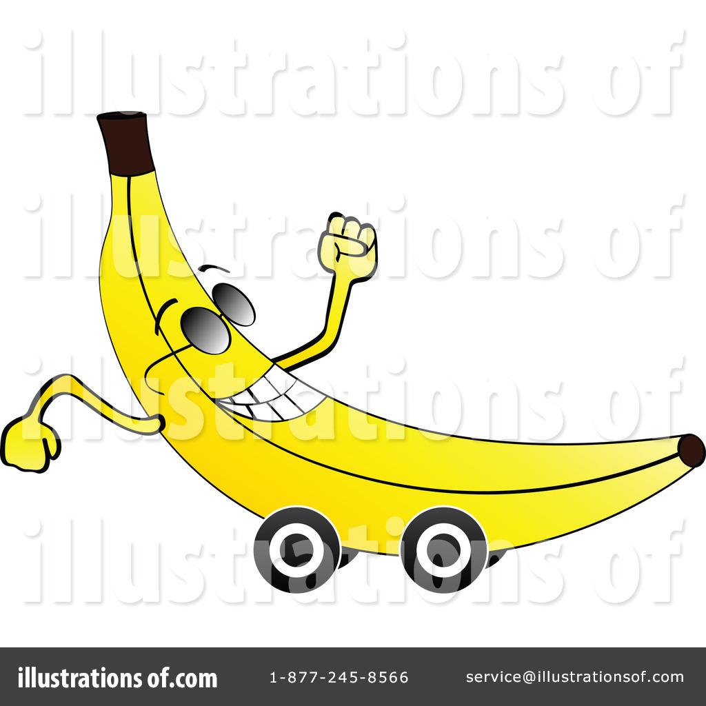 Banana Clipart #1056290 - Illustration by Andrei Marincas