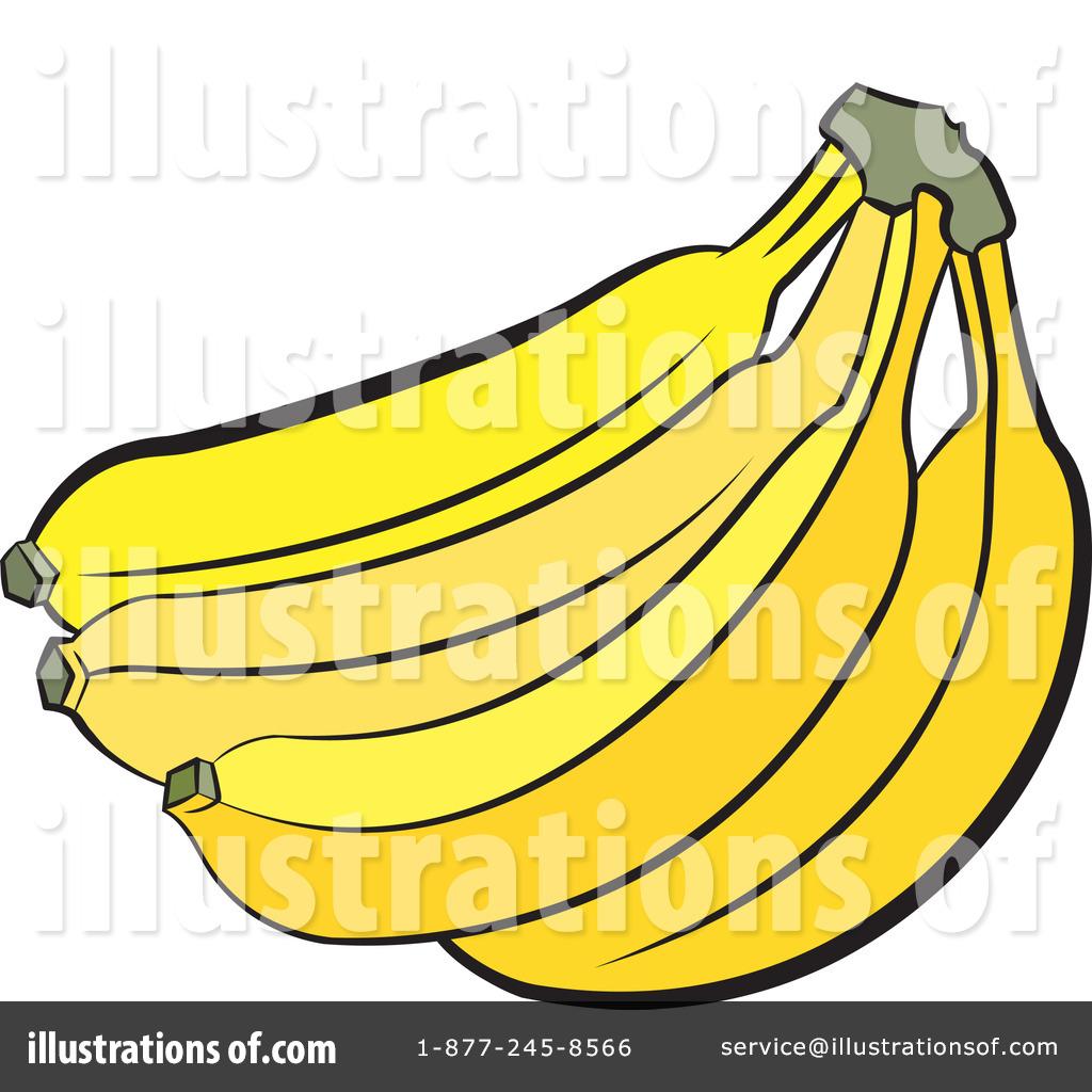 Banana Clipart #71646 - Illustration by Lal Perera
