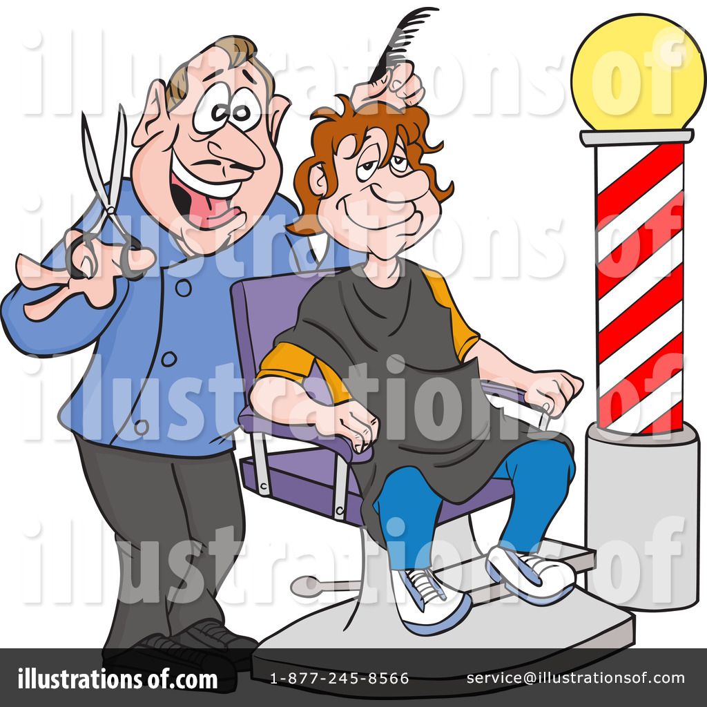barber clipart 1218557 illustration by lafftoon rh illustrationsof com barber clippers argos barber clippers and trimmers