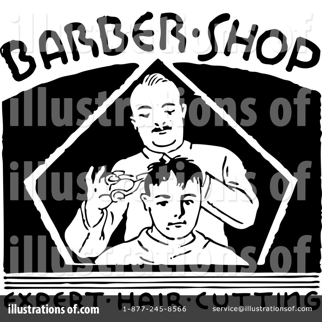 Royalty Free RF Barber Shop Clipart Illustration 1156623 By BestVector